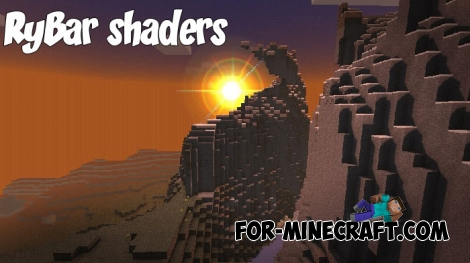 RyBar shaders v1.4.0 for MCBE 1.4+
