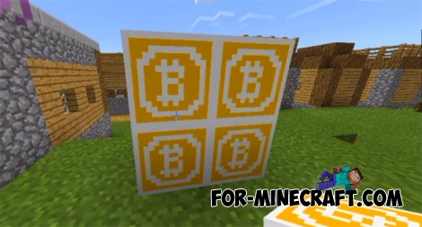 Bitcoin addon for Minecraft BE 1.2