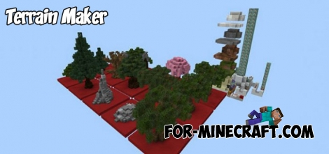Terrain Maker addon for Minecraft PE