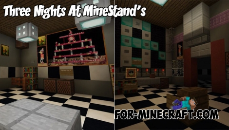Three Nights At MineStand's map for Minecraft 1.2