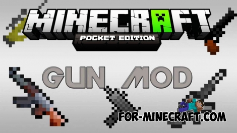 Master Guns mod for MCBE 1.2