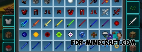 More Items mod for MCPE 1.2