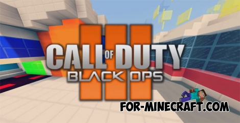 Black Ops 3 - NUK3Town map for Minecraft 1.2
