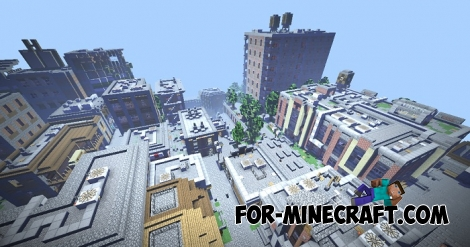 Broville PE City for Minecraft BE 1.2