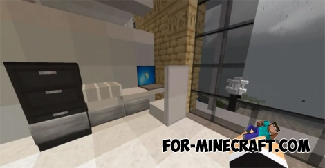 Expensive Redstone Mansion for Minecraft BE