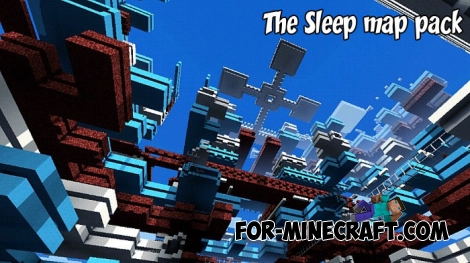 The Sleep map pack for Minecraft PE 1.2