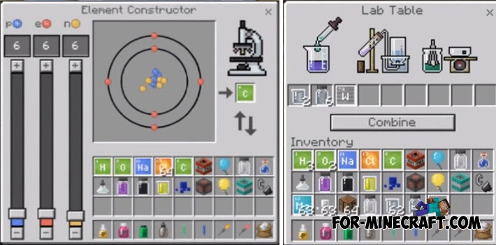 Chemistry in Minecraft PE 1 2 20
