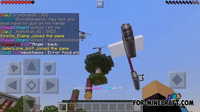 Kawaii High Roleplay server for MCPE 1.2 on mcpe lost map, mcpe the walking dead map, mcpe mansion map, mcpe city map,