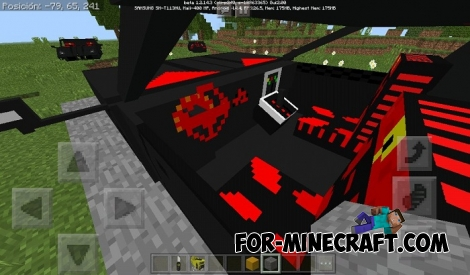 Lambo addon for Minecraft BE 1.2