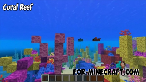 Coral Reef seed for MCPE 1.2.14