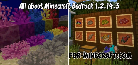 All about Minecraft Bedrock 1.2.14.3 map