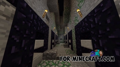 Dungeon Craft - Diamond Edition map for MCPE