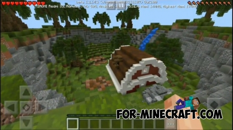 Crazy Hunting map for Minecraft 1.2.X