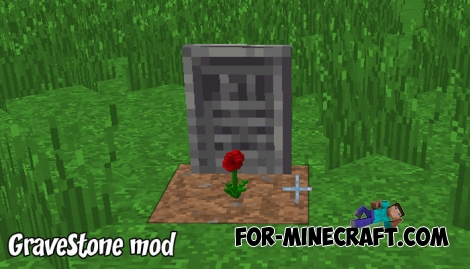 GraveStone mod v1.0.1 (IC) for MCBE