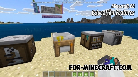 Minecraft BE - Education Features map