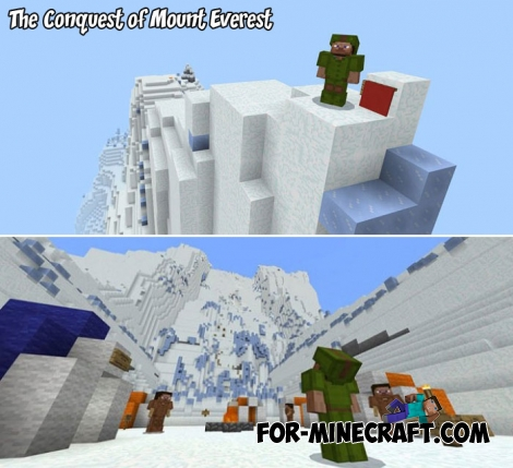 The Conquest of Mount Everest for Minecraft BE 1.5