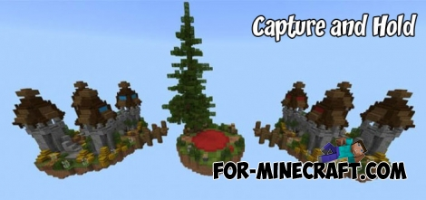 Capture and Hold map for MCBE 1.1/1.5