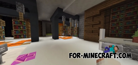 Protected Mansion map for Minecraft 1.2/1.5