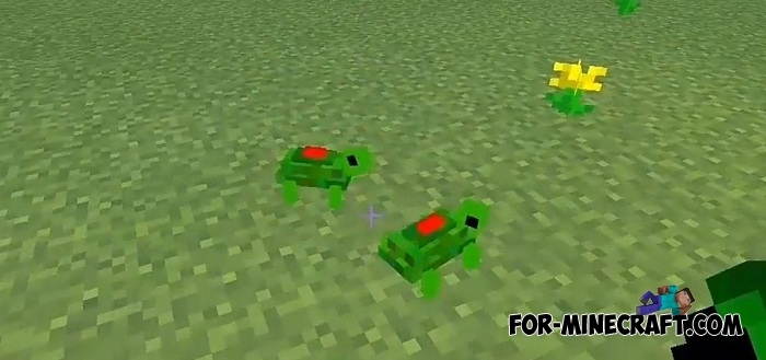 Mine Turtles addon for MCPE 1 2+