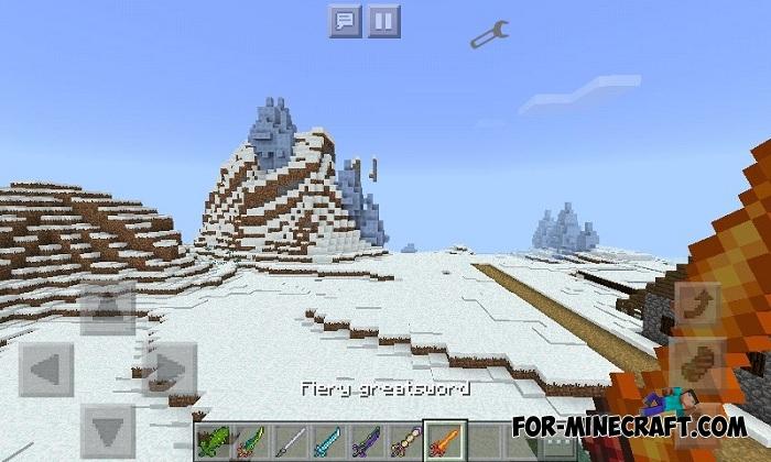 Terraria Swords Mod For Minecraft Pe 1 2 1 5