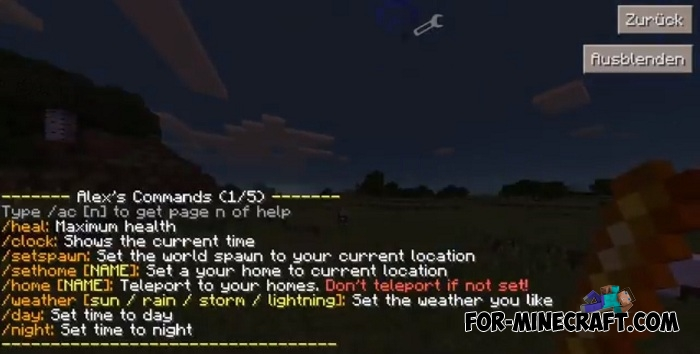 sethome command minecraft