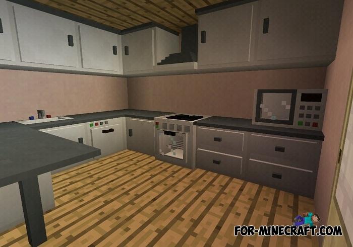 Slepe Furniture Mod V1 3 For Minecraft Pe Bedrock