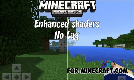 Enhanced shaders v2.0 for Minecraft Bedrock (No Lag)