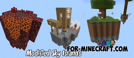 Modified Sky Islands map for Minecraft PE 1.2/1.5