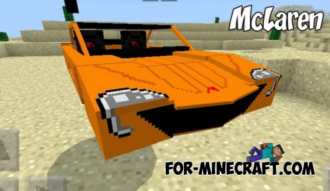 McLaren addon (Minecraft BE 1.1+)