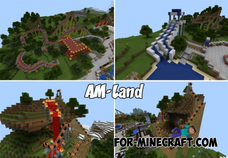 AM-Land for Minecraft PE 1.5