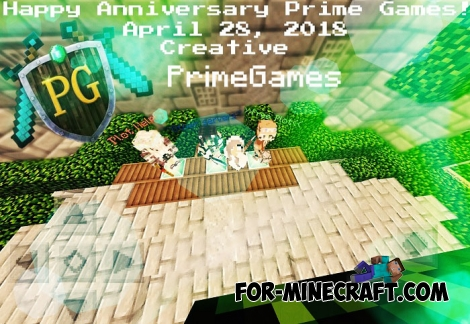 PrimeGames server for Minecraft BE 1.2.13