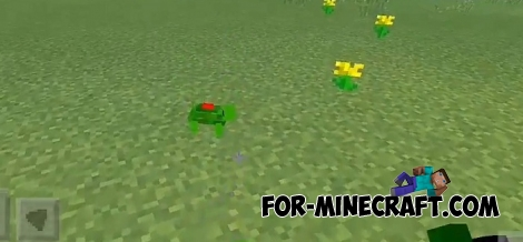 Mine Turtles addon for MCPE 1.2+