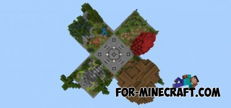 4C map for Minecraft Bedrock Edition 1.4/1.5
