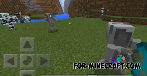 Iron Legion addon for Minecraft Pocket Edition