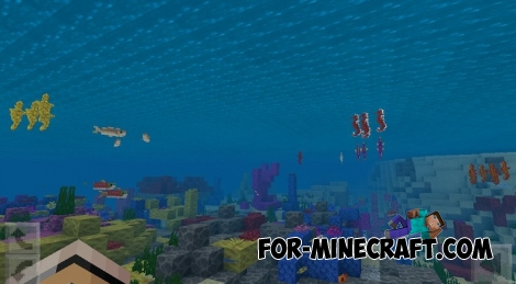 Sea Horses addon for MCBE 1.4.0/1.4.2