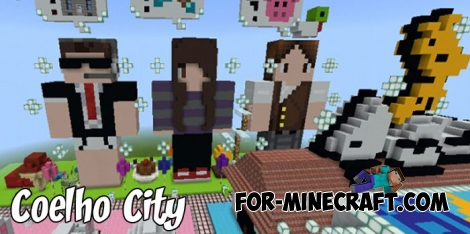 Coelho City map for Minecraft Pocket Edition 1.4