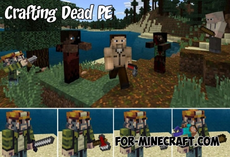 Crafting Dead PE v2.05 for MCPE 1.7+