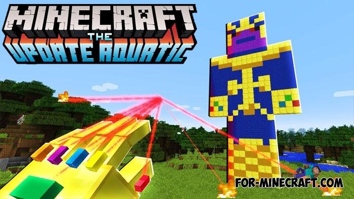 Minecraft Pe Mod Infinity Gauntlet - Harbolnas f