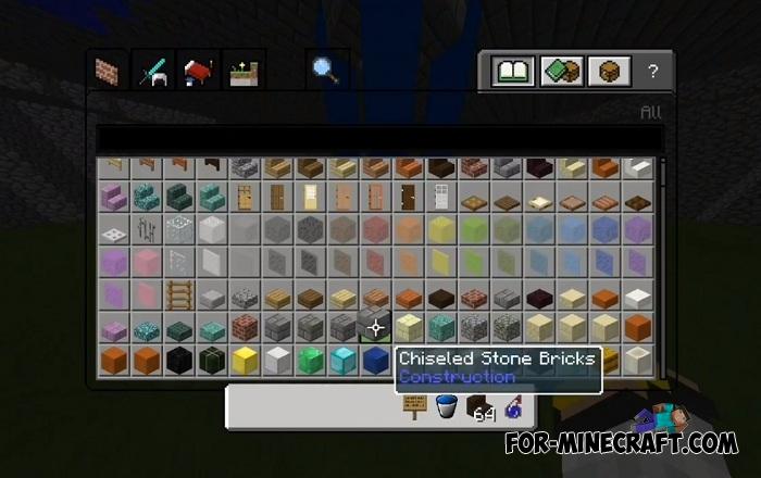 minecraft how to make chiseled stone
