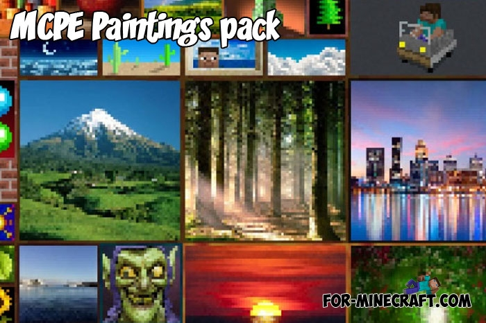 minecraft paintings texture pack