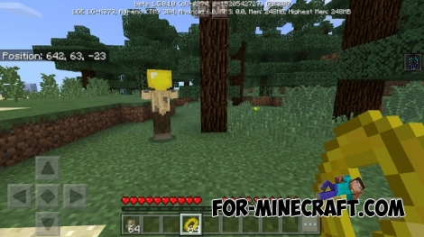 The One Ring addon for MCBE 1.2/1.5.10+