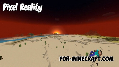 Pixel Reality for Minecraft Bedrock Edition 1.4/1.6+
