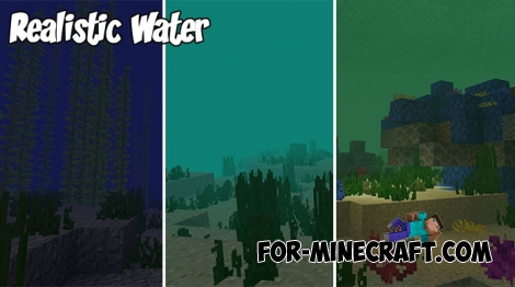 Realistic Water for Minecraft BE 1.4+