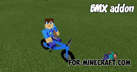 BMX addon for Minecraft PE 1.2+