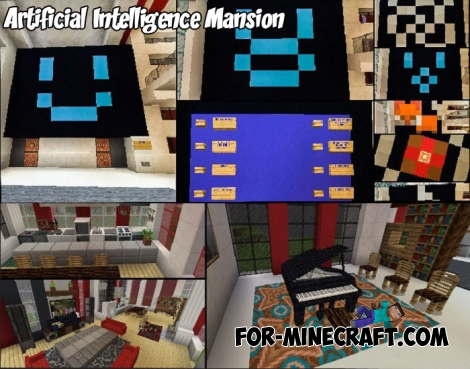 Artificial Intelligence Mansion for Minecraft PE 1.4+
