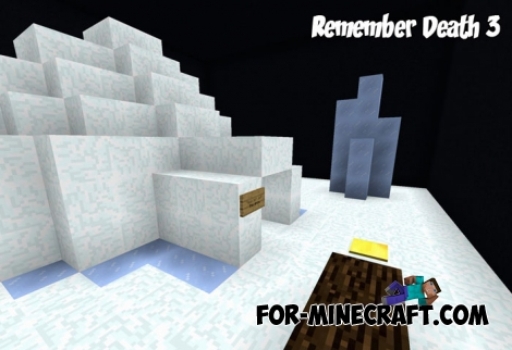 Remember Death 3 map for Minecraft Bedrock Edition