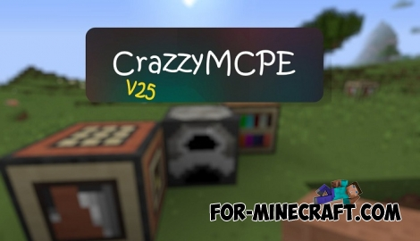 CrazzyMCPE textures for Minecraft Bedrock 1.6+