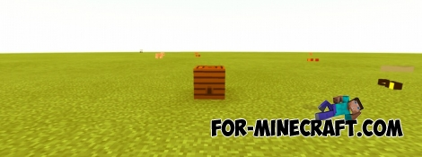 Bees mod for Minecraft Pocket Edition