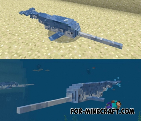 Narwhals for Minecraft Bedrock 1.6+