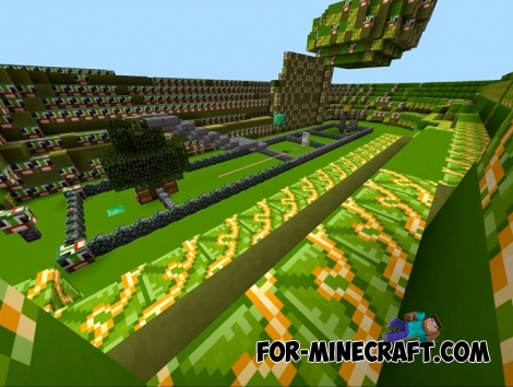 Unfair Unspeakable map for MCBE 1.2+